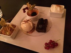 Order the dessert platter - so good!