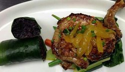 Grilled Chicken with wild coconut sticky rice