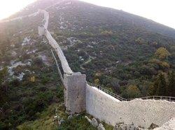 Le mura di Ston in Croazia
