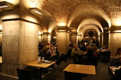 St Martins in the Fields Cafe in the Crypt