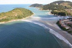 Praia Pernambuco e do Mar Casado