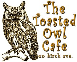The Toasted Owl Cafe Logo