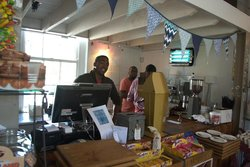 Friendly staff at Bean in Love, Paarl