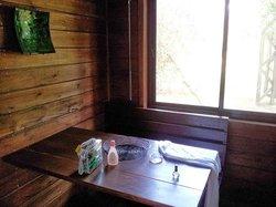 comedor de cabaña