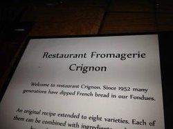 Fromagerie Crignon Culinair