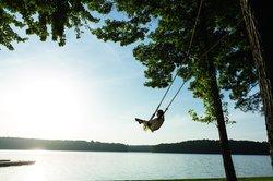 Swing by Lake Oconee
