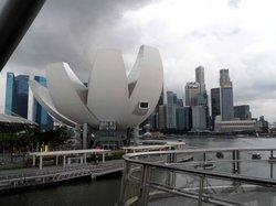 Museo dell'arte e della scienza presso il Marina Bay Sands