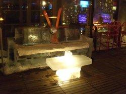 Vertigo Sky Lounge at the dana Hotel