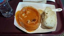 Pumpkin soup...yummy