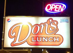 Don's Lunch Van