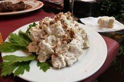 Reichlicher Waldorf-Salat
