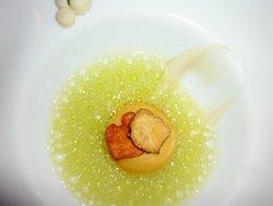Vacherin Mont-d'Or / Topinambur / Apfelsoda