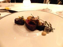 Delectable dishes at Amber