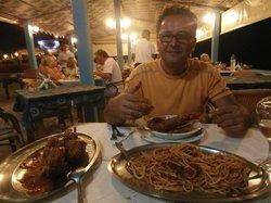 spaghetti con aragosta