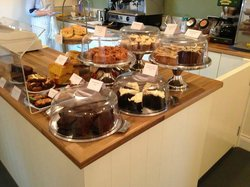 A lovely array of cakes