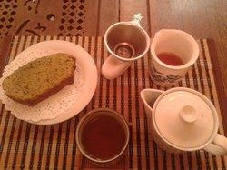 Interior de té
