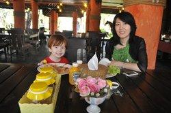 Wonderful food in their lovely restaurant
