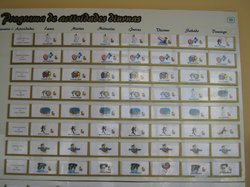 Activity board was for wall decoration only