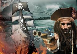 Attack of the Pirates on Sydney Harbour