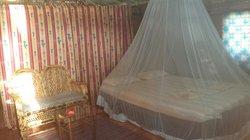 Inside our shack