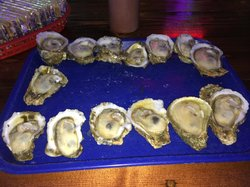 Dozen on the half shell (sometimes you get more)...