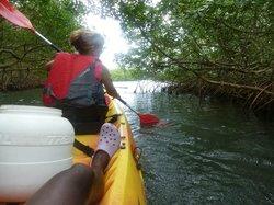 Yalode Kayak Canyon Guadeloupe