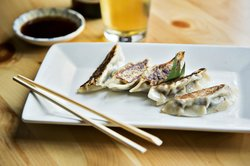 pan fried pipe dreams pork gyoza