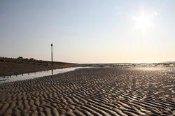 Pett Level Beach in the spring, a crisp morning...