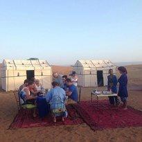 Bivouac Razgui Sahara