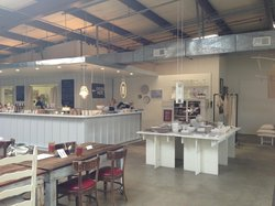 The Factory Cafe at Alabama Chanin
