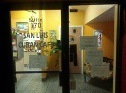 San Luis Cuban Cafe