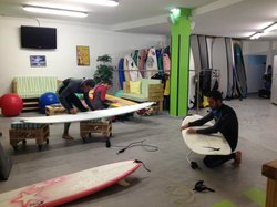 Escuela de surf Tablas