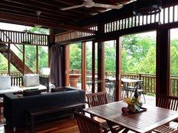 Private Living Hall of Villa Shorea.