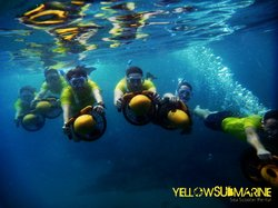 Yellow Submarine Sea Scooter Rental