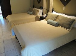 excellent beds and rooms size