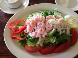 """Shrimp and Crab """"Louie"""" with ranch dressing"""
