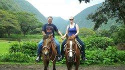 Waipi'o On Horseback