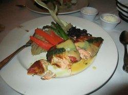 encrusted salmon....so incredibly delicious!