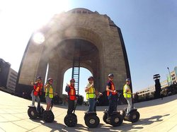 Greenway Tours on a Segway