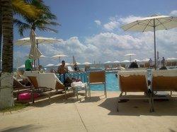 piscinas y playa