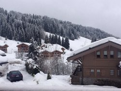 A view from the chalet
