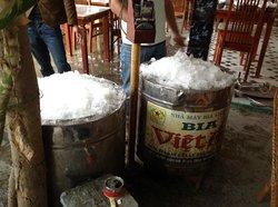 Прохладное пиво