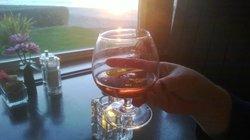Grand Marnier at Sunset!