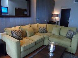 Thistle Suite Lounge area