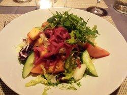 Salad as main course