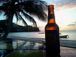 A beer by the beach