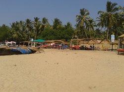 Hangout Agonda from the beach