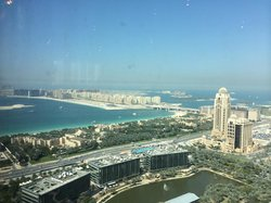 View from the 43 floor restraunt