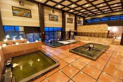 10種類のお風呂が楽しめる大浴場!