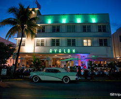Entrance at the Avalon Hotel